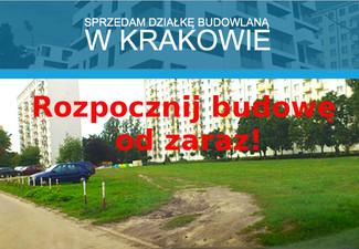 Działka budowlana w Krakowie, Kraków Prądnik Biały