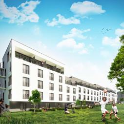 Mieszkanie w inwestycji Apartamenty Nowa Bonarka, symbol M2.40