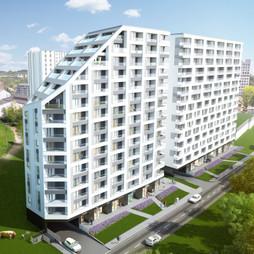 Mieszkanie w inwestycji Mogilska Tower 2, symbol M74