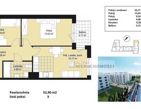 Mieszkanie na sprzedaż, Kraków M. Kraków Czyżyny, 597 770 zł, 52,9 m2, ATM-MS-1938