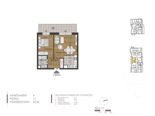 Mieszkanie w inwestycji Mokra 10, budynek Budynek A, symbol 4 » nportal.pl