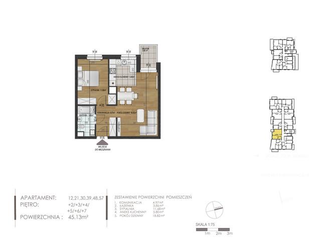Mieszkanie w inwestycji Mokra 10, budynek Budynek A, symbol 21 » nportal.pl
