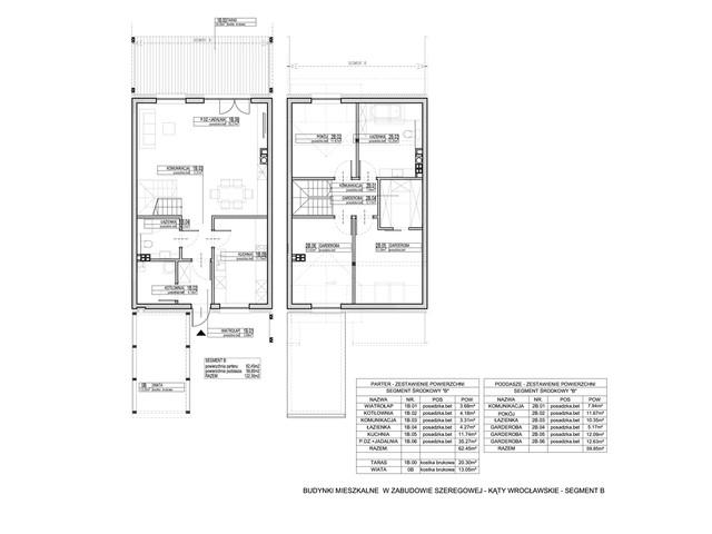 Dom w inwestycji Osiedle Dębowe etap VII, budynek Etap VII, symbol 10S » nportal.pl