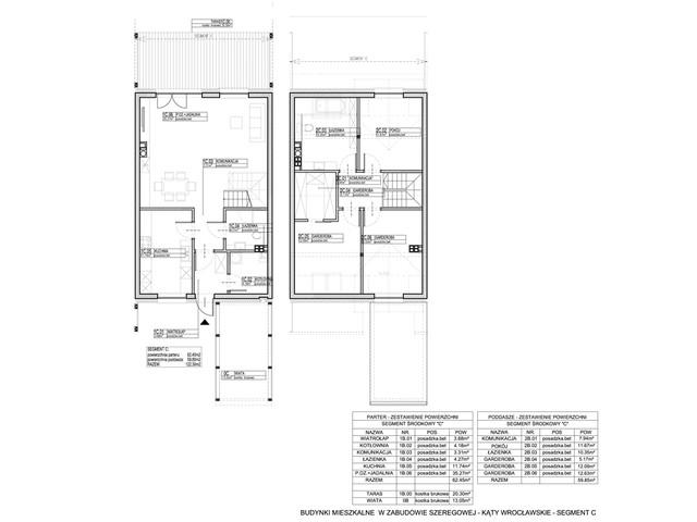 Dom w inwestycji Osiedle Dębowe etap VII, budynek Etap VII, symbol 14S » nportal.pl