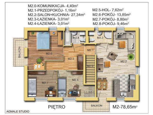Mieszkanie w inwestycji La Dubois, symbol 1B » nportal.pl
