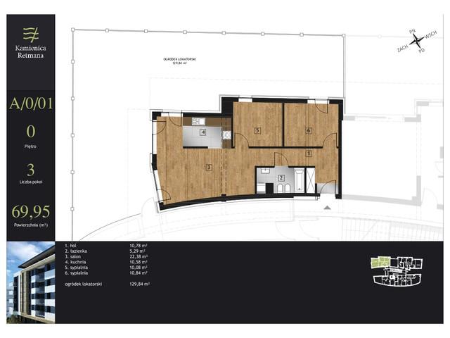 Mieszkanie w inwestycji Kamienica Retmana, symbol A.0.01 » nportal.pl
