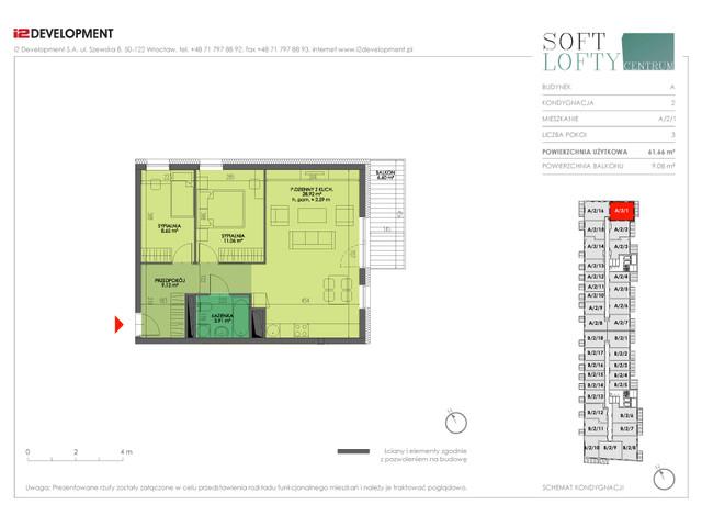 Mieszkanie w inwestycji Soft Lofty Centrum/Legnicka, budynek CENTRUM, symbol A/2/1 » nportal.pl
