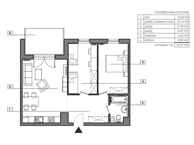Mieszkanie w inwestycji Signum, symbol B.8.3 » nportal.pl