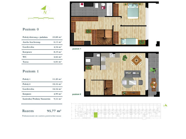 Mieszkanie w inwestycji Apartamenty Zdrowie w Łodzi, symbol K2.I.9 » nportal.pl