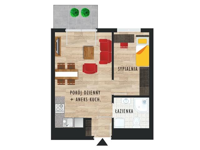 Mieszkanie w inwestycji Karoliny V, budynek Etap V, symbol 24 » nportal.pl
