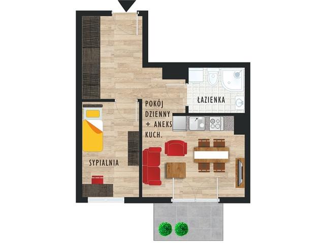 Mieszkanie w inwestycji Karoliny V, budynek Etap V, symbol 27 » nportal.pl