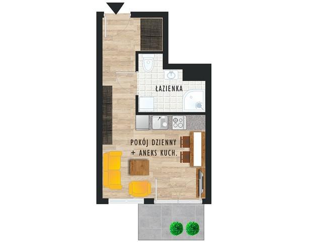 Mieszkanie w inwestycji Karoliny V, budynek Etap V, symbol 1 » nportal.pl