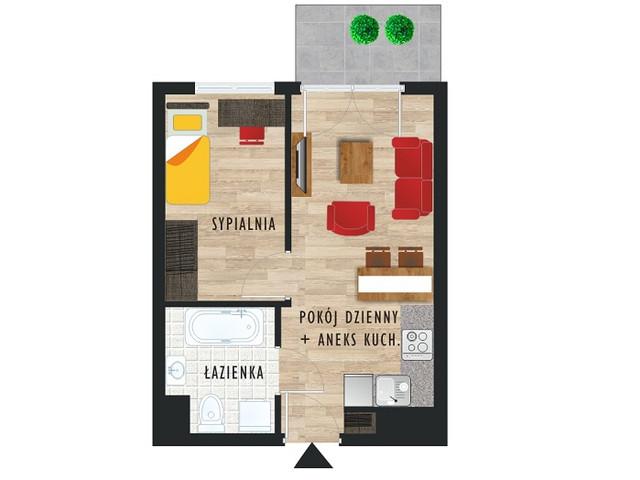 Mieszkanie w inwestycji Karoliny V, budynek Etap V, symbol 62 » nportal.pl