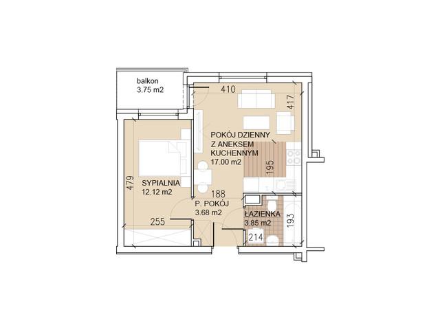 Mieszkanie w inwestycji Lokum di Trevi, budynek 26, symbol 26-0-7 » nportal.pl