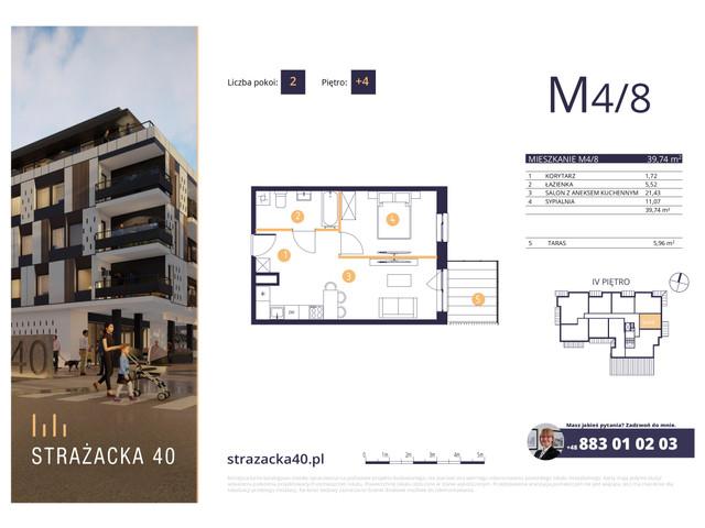 Mieszkanie w inwestycji Strażacka 40, symbol M4/8 » nportal.pl