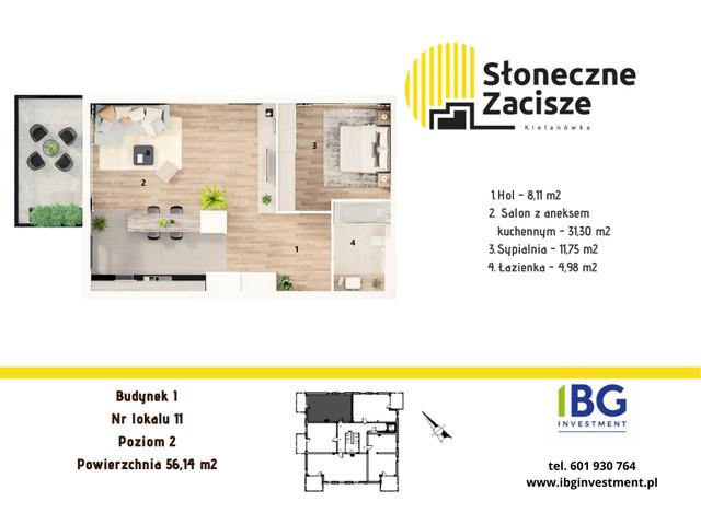 Mieszkanie w inwestycji Słoneczne Zacisze, budynek I, symbol I11 » nportal.pl
