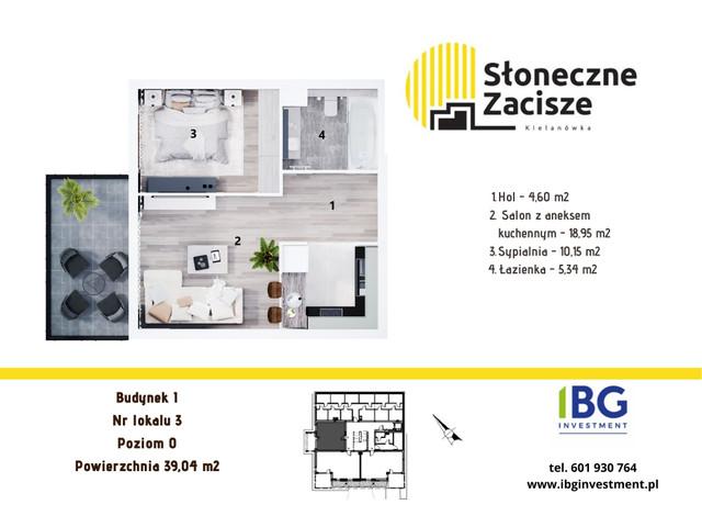Mieszkanie w inwestycji Słoneczne Zacisze, budynek I, symbol I3 » nportal.pl