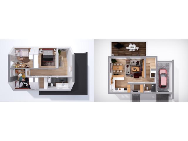 Dom w inwestycji Chmielowice Apartamenty, budynek Dom w Cenie Mieszkania, symbol DWCM-556 » nportal.pl
