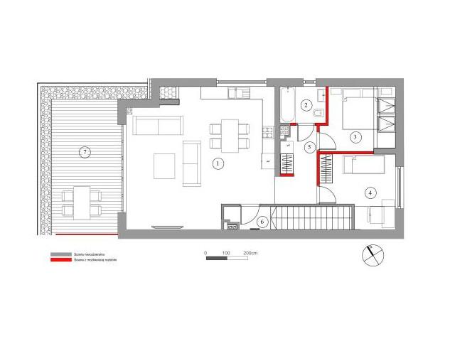 Mieszkanie w inwestycji Chmielowice Apartamenty, budynek Topazowa, symbol 25-P2 » nportal.pl