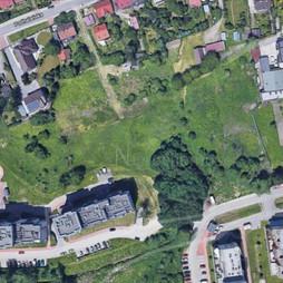 Działka na sprzedaż, Kraków Podgórze Podhalańska, 500 000 zł, 720 m2, 50847
