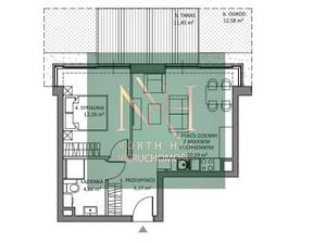 Mieszkanie na sprzedaż, Gdańsk M. Gdańsk Wyspa Sobieszewska, 758 910 zł, 42,56 m2, NHA-MS-1683