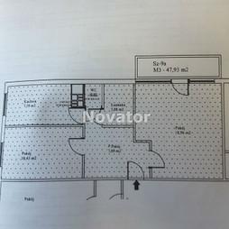 Mieszkanie na sprzedaż, Bydgoszcz M. Bydgoszcz Fordon Bajka, 195 000 zł, 48 m2, NOV-MS-142213
