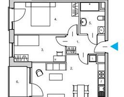 Mieszkanie na sprzedaż, Gdańsk Śródmieście Nowa Motława JAGLANA, 509 155 zł, 58,6 m2, RS04