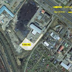 Działka na sprzedaż, Szczecin Śródmieście Gdańska, 870 000 zł, 4331 m2, 9