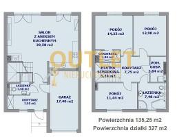 Dom na sprzedaż, Szczecin Osów, 569 000 zł, 135,25 m2, OUT01659