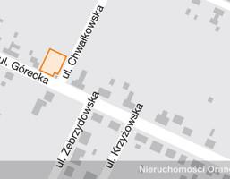 Działka na sprzedaż, Wrocław Górecka , 380 000 zł, 961 m2, T00666