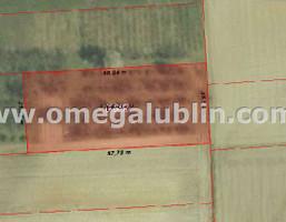 Działka na sprzedaż, Lubelski Konopnica Motycz, 165 000 zł, 1500 m2, LUB-GS-819-1