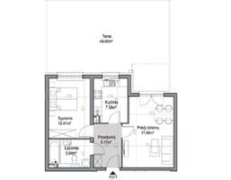 Mieszkanie na sprzedaż, Wrocław Psie Pole Poświętne, 267 377 zł, 49,06 m2, 22