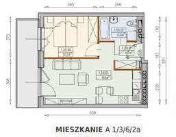 Mieszkanie na sprzedaż, Wrocław Psie Pole Sołtysowice, 220 225 zł, 38,3 m2, 26