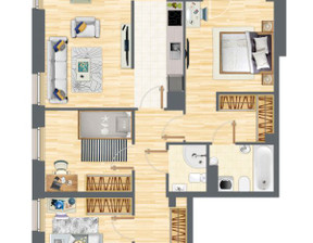 Mieszkanie w inwestycji Słowackiego 77, budynek 2, symbol 2_5