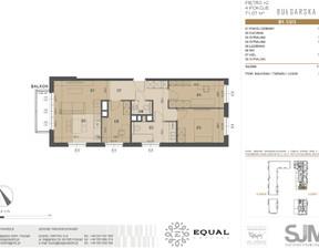 Mieszkanie na sprzedaż, Poznań Grunwald Bułgarska, 422 339 zł, 71,1 m2, 7