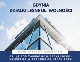 Budowlany-wielorodzinny na sprzedaż, Gdynia Działki Leśne Wolności, 2 490 000 zł, 1397 m2, CE431563