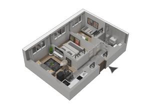 Mieszkanie w inwestycji KW51, symbol M07