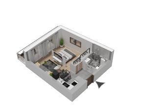 Mieszkanie w inwestycji KW51, symbol M50