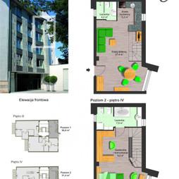 Mieszkanie w inwestycji Kamienica Perłowa, budynek Kamienica Perłowa, symbol Apartament