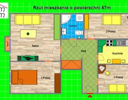 Mieszkanie na sprzedaż, Gliwicki (pow.) Knurów Kazimierza Wielkiego, 169 000 zł, 57 m2, 728