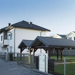 Dom w inwestycji Osiedle Krokusów, symbol 23B