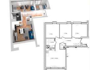 Mieszkanie na sprzedaż, Łódź Widzew, 441 823 zł, 72,43 m2, 14862