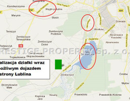 Działka na sprzedaż, Lublin M. Lublin Zemborzyce Pasieczna, 620 000 zł, 5744 m2, PRT-GS-743