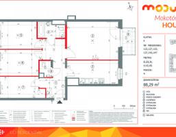 Mieszkanie w inwestycji MODUO House, budynek E, symbol 147