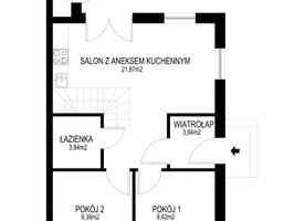 Dom na sprzedaż, Poznań Kamionki, 253 600 zł, 110 m2, 62