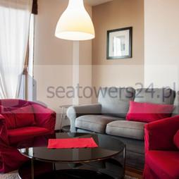 Mieszkanie do wynajęcia, Gdynia Śródmieście A. Hryniewickiego, Sea Towers, 2900 zł, 45 m2, 281