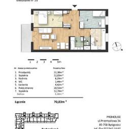 Mieszkanie w inwestycji Osiedle Słoneczne, budynek Budynek 1, symbol 39