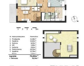 Mieszkanie w inwestycji Osiedle Słoneczne, budynek Budynek 1, symbol 45