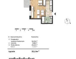 Mieszkanie w inwestycji Osiedle Słoneczne, budynek Budynek 1, symbol 38