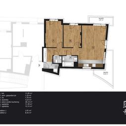 Mieszkanie w inwestycji Kamienica Retmana, symbol A.1.09
